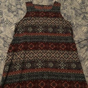Forever 21 dress with keyhole back M/L